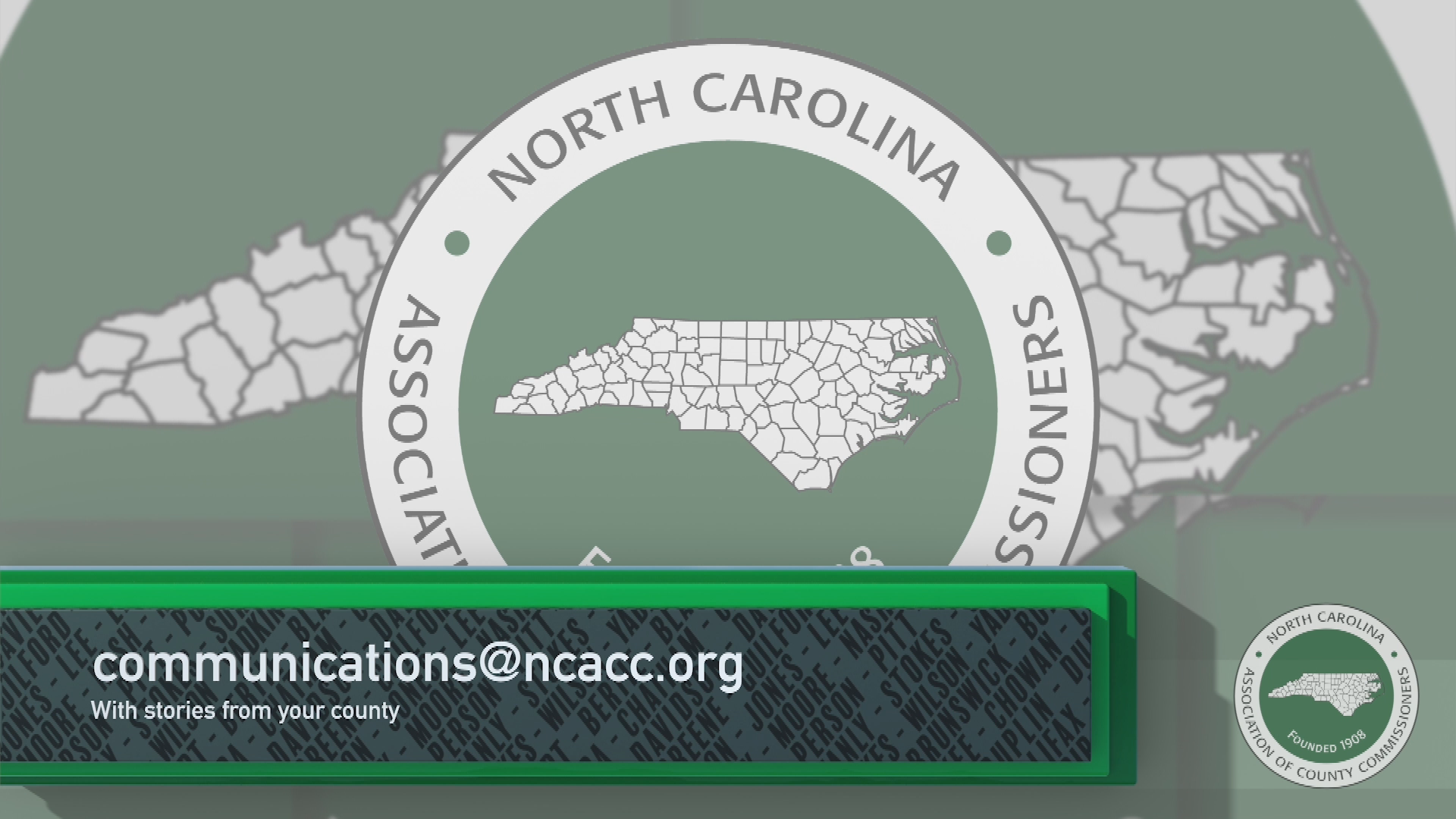 Video of the Week NC Counties and the 2020 Census Lee County shows