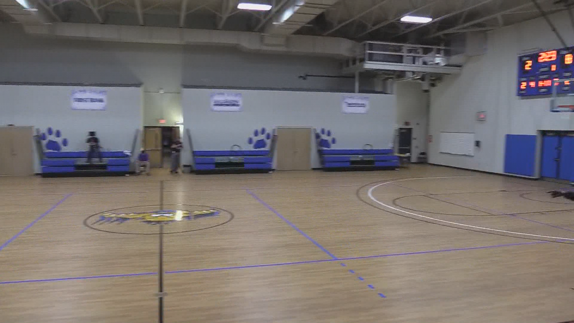 Cougar Women's Basketball v. Carolina Christian 4cnc shows